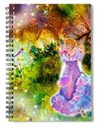 Azuria In Her Banquet Gown Spiral Notebook