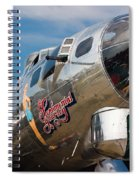 B-17 Flying Fortress Spiral Notebook