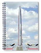B-17 Tail Fin Spiral Notebook