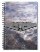 B-2 Stealth Bomber Spiral Notebook