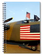 B-24 Bomber - Diamond Lil Spiral Notebook