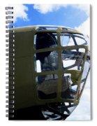 B-24 Nose Gun Spiral Notebook