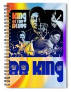 B. B. King Poster Art Spiral Notebook