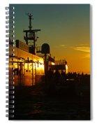 B C Ferries Sunsets Sc3417-13 Spiral Notebook