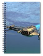 B Wing Aircraft Spiral Notebook