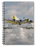 B17 486th Bomb Group Spiral Notebook