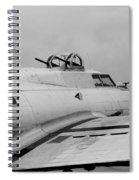 B17 Bomber Spiral Notebook