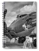 B17 Texas Raiders V10c Spiral Notebook