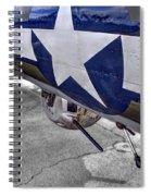 B17 Texas Raiders V12c Spiral Notebook