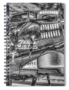 B17 Texas Raiders V14c Spiral Notebook