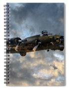 B17 Tribute Spiral Notebook