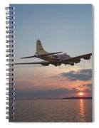 B17  Westward Ho Spiral Notebook