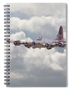 B17- Yankee Lady Spiral Notebook