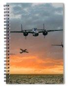 B25 Escape Spiral Notebook
