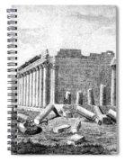 Baalbek Aka Heliopolis, 1845 Spiral Notebook