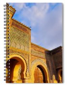 Bab Mansour In Meknes In Morocco Spiral Notebook