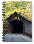 Babbs Covered Bridge Spiral Notebook