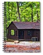 Babcock Cabin Spiral Notebook