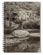 Babcock Sepia  Spiral Notebook