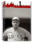 Babe Ruth As Member Of The Boston Red Sox National Photo Company Collection 1919-2013 Spiral Notebook