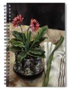 Baberton Daisies Spiral Notebook