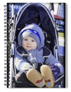 Baby Blue Spiral Notebook