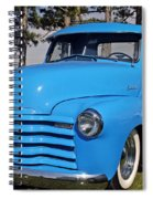 Baby Blue Chevy From 1950 Spiral Notebook