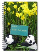 Baby Boomers Spiral Notebook