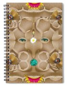 Baby Lord Ganesha Spiral Notebook