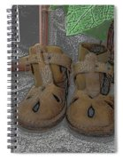 Baby Shoes Spiral Notebook