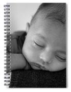 Baby Sleeps Spiral Notebook