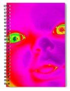 Babyface Spiral Notebook