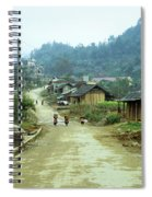 Bac Ha Town Spiral Notebook