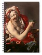 Bacchante With An Ape Spiral Notebook