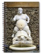 Bacchus Fountain Spiral Notebook