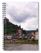 Bacharach Am Rhein And Burg Stahleck Spiral Notebook
