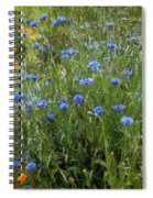Bachelor's Meadow Spiral Notebook