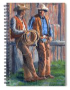 Back At The Ranch Spiral Notebook
