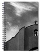 Back Entrance Arch San Xavier Del Bac Mission 1979 Spiral Notebook