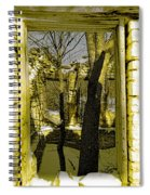 Back In Time Spiral Notebook