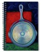Back Iron Spiral Notebook