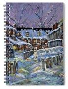 Back Lanes Buddies By Prankearts Spiral Notebook