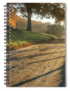 Back Road Morning Spiral Notebook