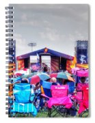 Back Row Seats Spiral Notebook