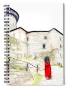 Back To Home Spiral Notebook