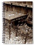 Back Yard Iron Spiral Notebook