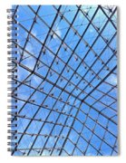Backbend In The Louvre Spiral Notebook