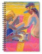 Backgammon Spiral Notebook
