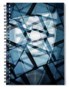 Background Code Spiral Notebook