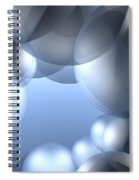 Background Effect Spiral Notebook